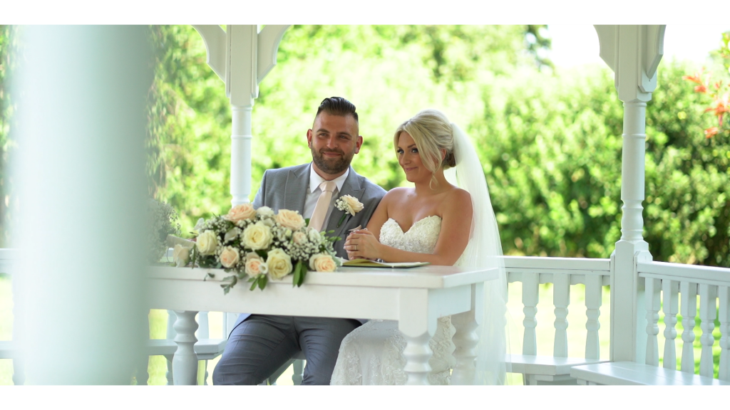 wedding videographers in kent - the old kent barn